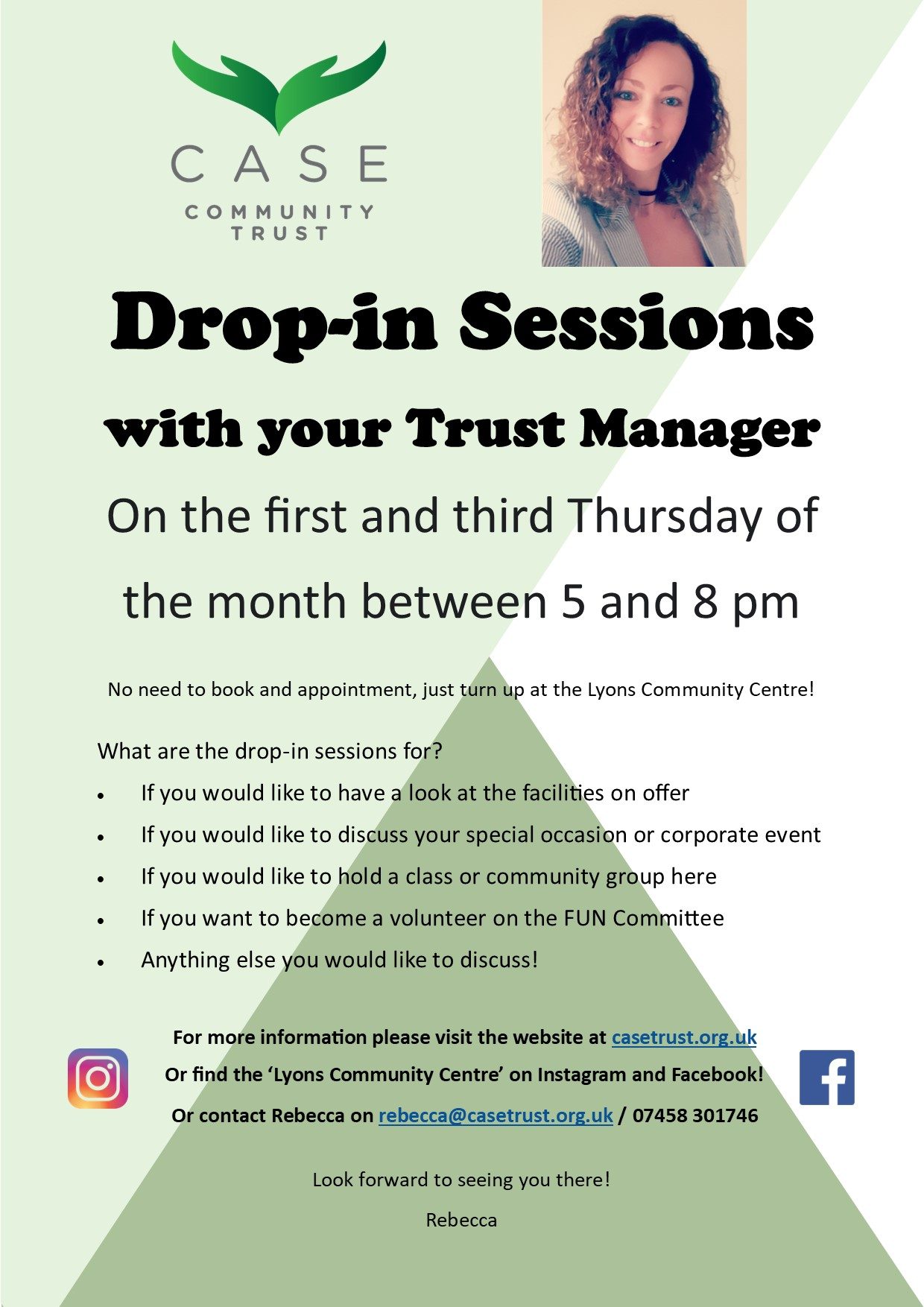Drop-in Sessions Poster